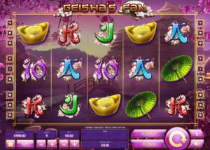 Slot Machine Geisha´s Fan Online Free