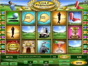 Free Golf Championship Slot Online