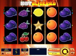 Hot Blizzard Free Online Slot