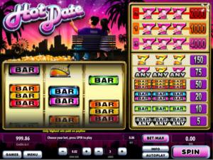Slot Machine Hot Date Online Free