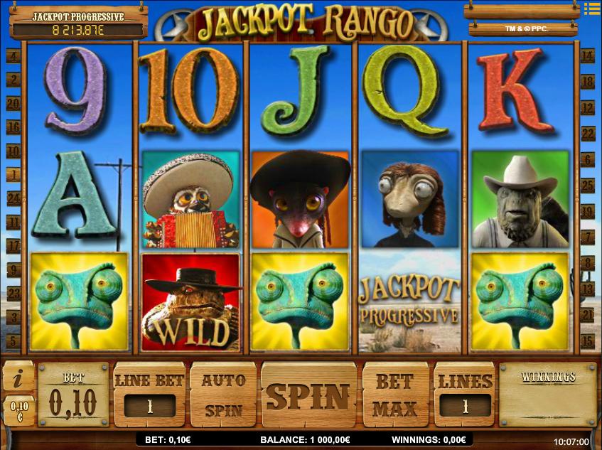 Jackpot Rango Free Online Slot