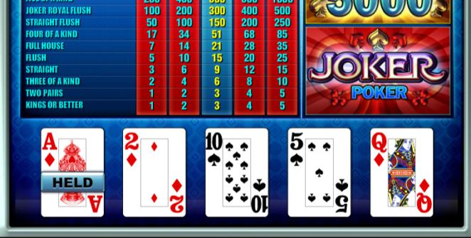 Free Joker Poker TomHorn Online