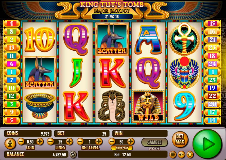 Spiele King TutS Tomb - Video Slots Online