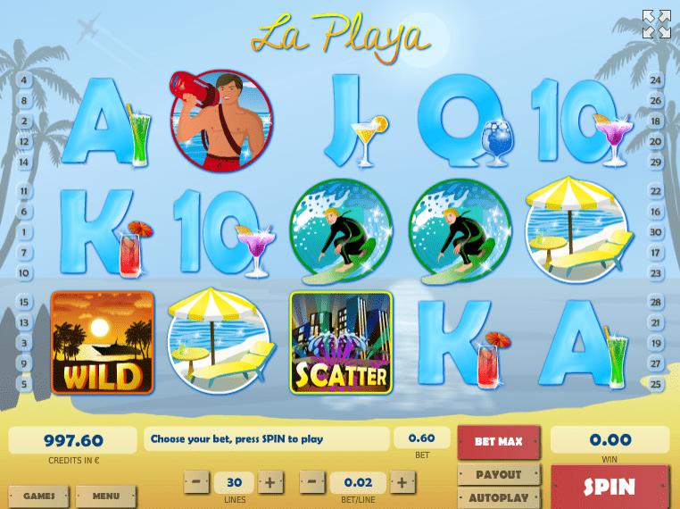 La Playa Free Online Slot