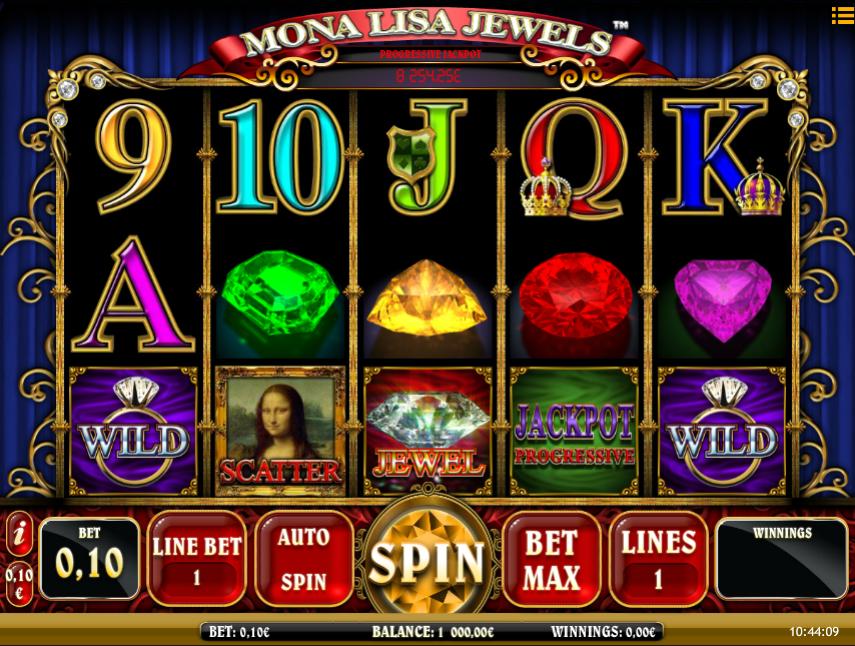 Slot Machine Online Mona Lisa Jewels Free