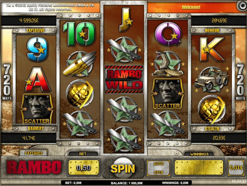 Free Rambo Slot Online