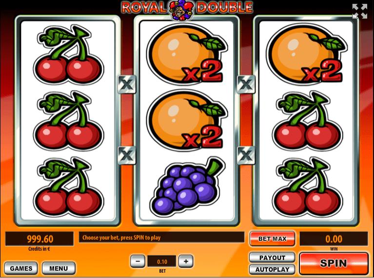 Slot Machine Royal Double Online Free