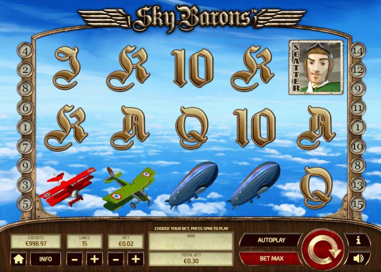 Sky Barons Slot - Play Free Casino Slot Machine Games