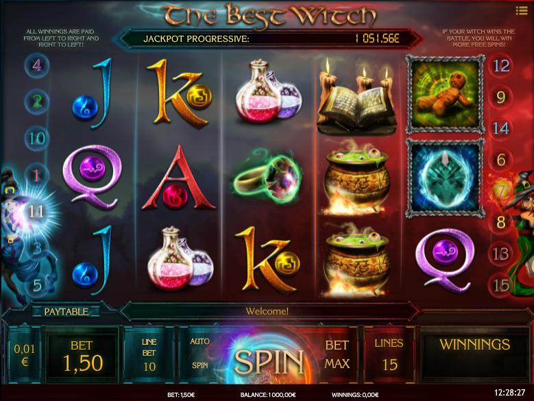 Slot Machine The Best Witch Online Free