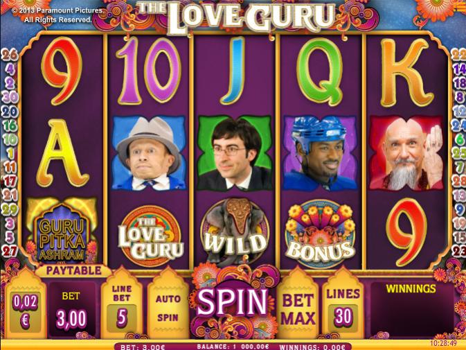 Free The Love Guru Slot Online