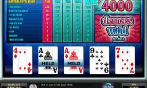 Free Deuces Wild Tom Horn Slot Online