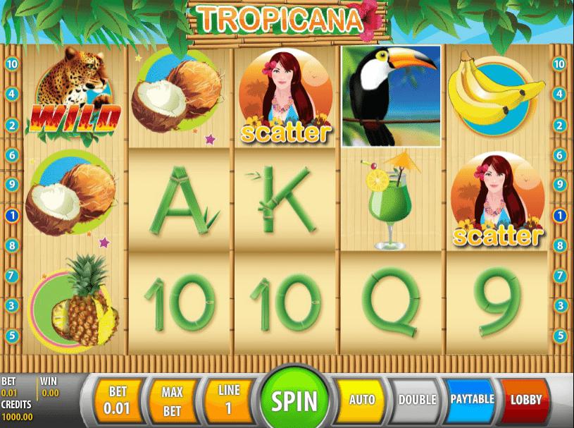 Tropicana Slot Machine - Free Online Casino Game by Spigo