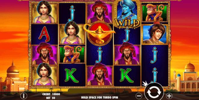 Slot Machine 3 Genie Wishes Online Free