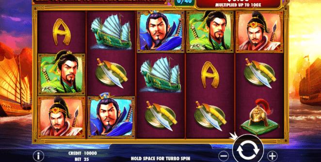Slot Machine 3 Kingdoms Battle of Red Cliffs Online Free