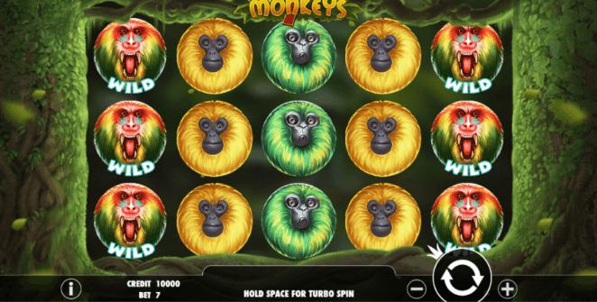Free 7 Monkeys Slot Online