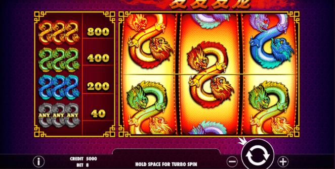 Free Slot Online 888 Dragons