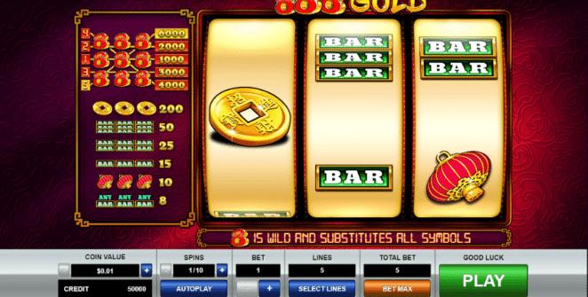 888 Gold Free Online Slot