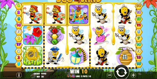 Bee Land Free Online Slot