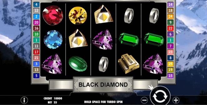 Slot Machine Black Diamond Online Free