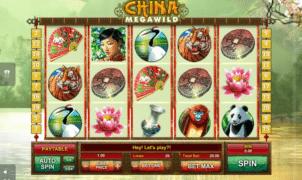 Slot Machine China MegaWild Online Free