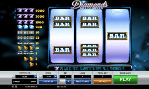 Diamonds are Forever Free Online Slot
