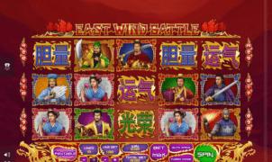 Slot Machine East Wind Battle Online Free