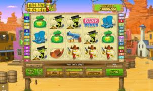 Free Slot Online Freaky Cowboys