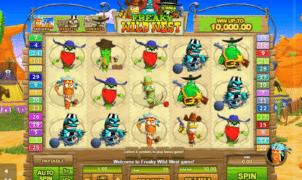 Slot Machine Freaky Wild West Online Free