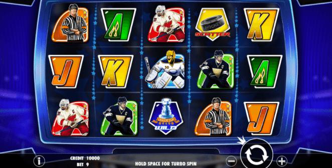 Slot Machine Hockey League Wild Match Online Free
