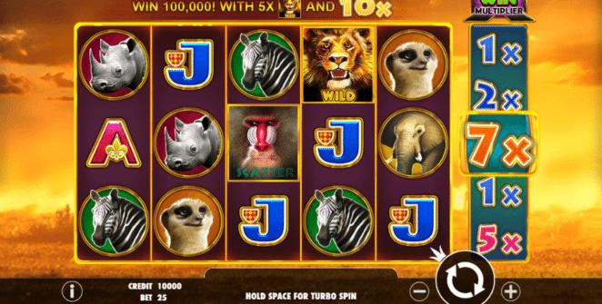 Hot Safari Free Online Slot