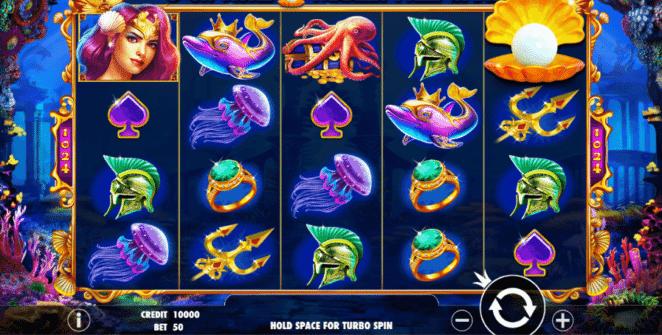 Free Queen of Atlantis Slot Online