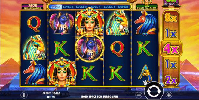Free Slot Online Queen of Gold