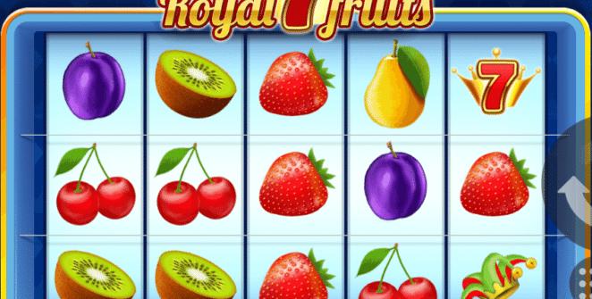 Free Slot Online Royal 7 Fruits