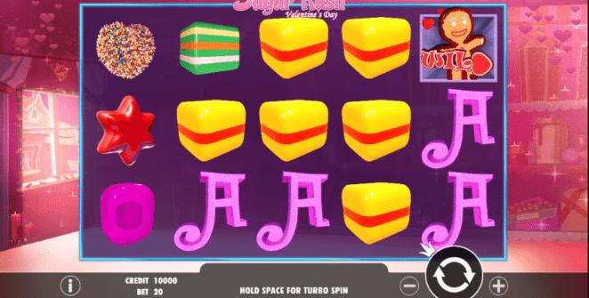 Sugar Rush Valentines Day Free Online Slot