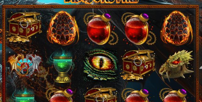 Slot Machine Super Dragons Fire Online Free