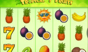 Slot Machine Tropical 7 Fruits Online Free