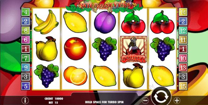 Slot Machine Wild Sevens Online Free