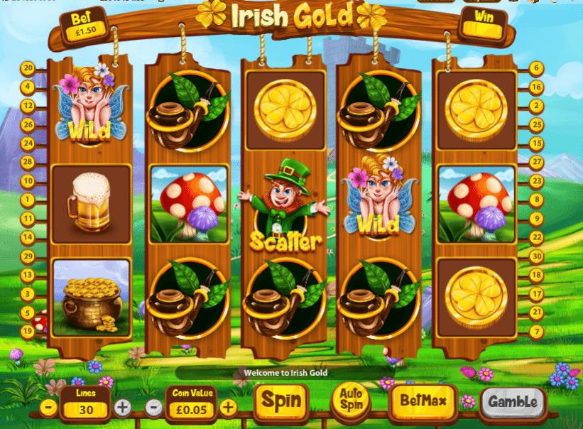 Irish gold kostenlos spielen
