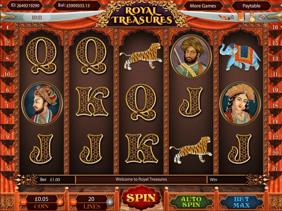 Spiele Royal Treasures - Video Slots Online