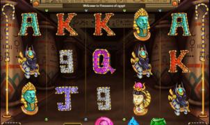 Treasures of Egypt Cozy Games Free Online Slot