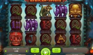 Free African Spirit Slot Online