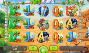 Slot Machine Kangaliens Online Free