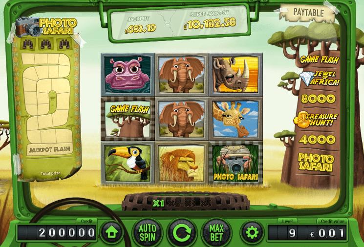 Safari 88 Slot