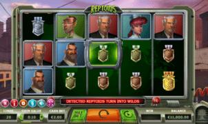 Slot Machine Reptoids Online Free