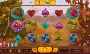 Free Seasons Slot Online