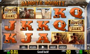 Free Bandits Bounty Slot Online