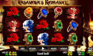 Slot Machine Casanovas Romance Online Free