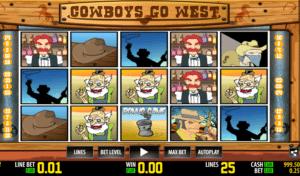 Slot Machine Cowboys Go West Online Free