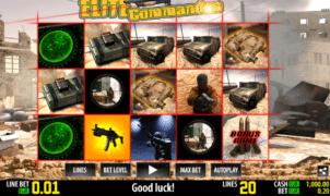 Slot Machine Elite Commandos Online Free