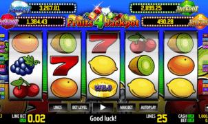 Fruits 4 Jackpot Free Online Slot